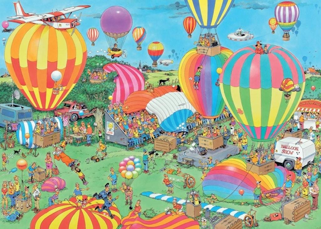 Puzzle Van Haasteren Balloon Festival 2000 pcs