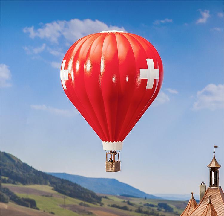 Balloon Swiss flag