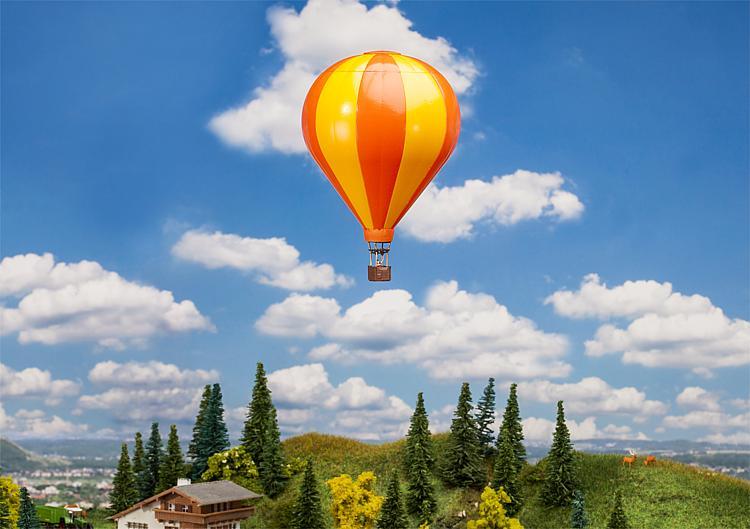 Hot air balloon Yellow and Orange